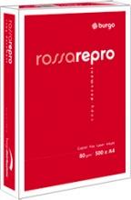 Burgo 8133 Risma Carta A4 5 Risme da 500 Fogli Rosso REPRO ROSSA A4