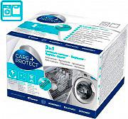 CARE+PROTECT 35601768 Anticalcare Lavatrici Lavastoviglie 3in1 12 bustine 50 gr 35601769