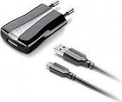 Cellular Line Alimentatore Caricabatteria+Cavo USBMicroUSB ACHUSBKITMICROUSB2