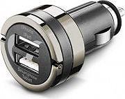 Cellular Line CBRUSBDUAL4AK Caricabatterie auto 2 USB cellulare smartphone