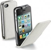 Cellular Line Custodia Cover Flap per iPhone 5 FLAP ESSENTIAL Bianca