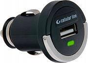 Cellular Line Carica batterie da auto con connettore USB - MICROCBRUSB