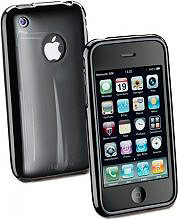 Cellular Line Custodia Cover per iPhone 4  4S - Shoking Case IPhone 4G Nera