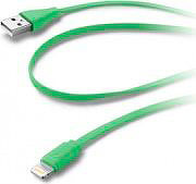 Cellular Line USBDATACFLMFIIPH5G Cavo Dati USB 2.0 MaschioMaschio Lightning
