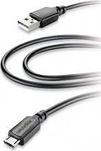 Cellular Line Cavo Dati USB  Micro USB Maschio  Maschio 2 m USBDATACMICROUSB2M