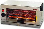 CF Parker T930 Tostiera Professionale Potenza 2000 Watt colore Inox -  Inox