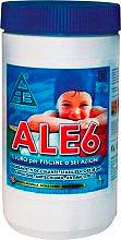 CHEMICAL Cloro per piscine pastiglie Antialghe Flocculante 200 gr 1,4 kg Ale6