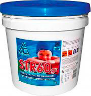 CHEMICAL Cloro per piscine granulare Azzurrante Antialghe 25 Kg STR60gr