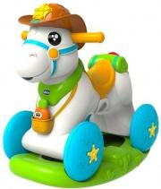 CHICCO 7907 Cavallo a dondolo interattivo per bambini da 1 anno