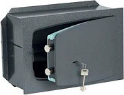 CISA Cassaforte a muro con chiave Spessore sportello 8mm 420×300×195mm 18A010400