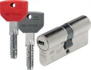 CISA ASIXP8 PRO 3540 Cilindro serratura sagomato infilare 35-40 + 3 Chiavi