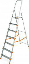 COLOMBO S108A07W Scala alluminio 7 gradini Altezza max 152 cm 150 kg  Aluminium