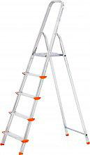 COLOMBO S108AO5W Scala alluminio 5 gradini Altezza max 106 cm 150 kg  Aluminium