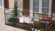 COLOMBO ST189 Stendibiancheria balcone Dimensione 55x109x2.5 cm  Balcony 1018