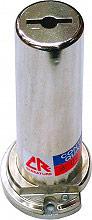 CR Serrature 20CR803 Cilindro a Pompa ø 27 mm con 3 chiavi lunghezza 80 mm