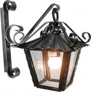 CRUCCOLINI LM20 Lampada Esterno Applique in Ferro battuto cm 20x30x30 h  - OUTLET
