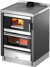 Cadel KOOK 60 4.0 Cucina a Legna da inserimento con Forno 6 kW 149 m3 60x60 cm