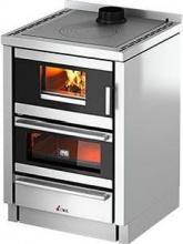 Cadel KOOK 60 4.0 Cucina a Legna da inserimento con Forno 6.2 kW cm Inox