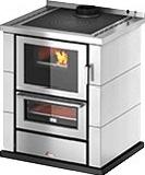 Cadel KOOK 67 Cucina a Legna con Forno 6 kW 149 m3 60x60 cm Bianco Kook 60 4.0