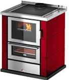 Cadel KOOK 67 Cucina a Legna con Forno 6 kW Volume 149 m3 60x60 cm Rosso Kook 60 4.0