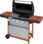 Campingaz Barbecue Gas da Giardino Piastra in Ghisa 4 Series Woody L 2000015637