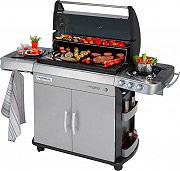 Campingaz 2000015658 Barbecue a Gas Piastra Griglia Fornello laterale BBQ 4 Series RBS LXS