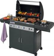 Campingaz 2000033885 Barbecue Gas BBQ Gas da Giardino 12.8 kW 4 Series Classic LS Plus Dark