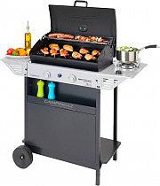 Campingaz 3000004834 Barbecue BBQ a Gas Pietra lavica griglia fornello Xpert 200LS Plus Rocky