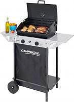 Campingaz 3000004828 Barbecue BBQ a Gas Pietra lavica griglia acciaio XPERT 100 LS+ ROCKY