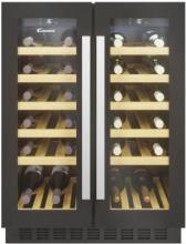Candy CCVB 60D1 Cantinetta Vino Frigo Incasso 40 bottiglie Classe G Nero