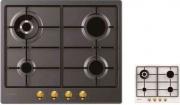 Candy CHW 6 BR4WGTAV Piano Cottura 4 Fuochi a Gas 60 cm Incasso Avena