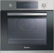Candy FCP605XL Forno Incasso Ventilato Elettrico 65L Classe A+ 60 cm Pizza Inox