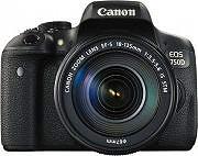Canon Fotocamera Reflex 24 Mpx CMOS EF-S 18 - 55mm Video Full HD EOS 750D