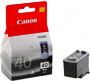 Canon 0615B001 Cartuccia Originale Inkjet Nero per Stampante Canon IP1600  PG-40