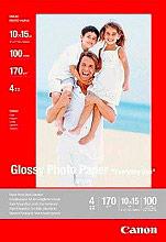 Canon 0775B003 Carta lucida Glossy GP501 10X15