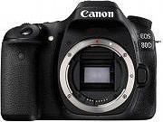 Canon Fotocamera Digitale Reflex 24Mpx CMOS Full HD EFEF-S EOS 80D 1263C027