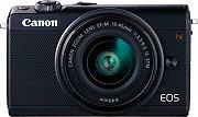 Canon 2209C012 Fotocamera Digitale Mirrorless 24.2 Mpx Obiettivo EF-M 15-45MM EOS M100