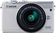 Canon 2210C049 Fotocamera Digitale 24,2Mpx CMOS EF-M 15-45 mm NFC  EOS M100