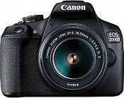 Canon 2728C003 Fotocamera Reflex Digitale 24 Mpx Wifi Obiettivo EF-S 18-55mm EOS 2000D