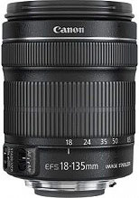 Canon Obiettivo EF-S 18-135mm f3.5-5.6 IS STM - 6097B005 - 6097B005AA