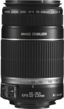 Canon 2044B005AA Obiettivo EfS 55250Mm F45.6 Is