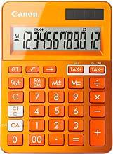 Canon Calcolatrice da Tavolo 12 Cifre Arancio - 9490B004 - LS-123k