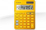 Canon Calcolatrice con Percentuale 12 Digit colore Giallo Metallico LS-123