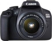 Canon EOS2000D1855 EOS 2000 D Fotocamera Reflex Digitale 24.7 Mpx Full HD+Obiettivo 18-55 ISK