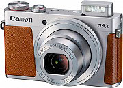 "Canon Fotocamera digitale compatta 3"" 20,2Mpx Video Full HD WiFi PowerShot G9 X"