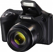Canon Fotocamera Digitale Bridge 20Mpx 45x HD SX432 IS PowerShot