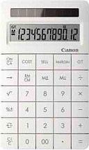 Canon Calcolatrice Finanziaria 12 cifre col. Bianco 8339B00 X Mark II White