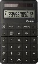 Canon Calcolatrice Finanziaria 12 cifre col. Nero 8339B001 X Mark II Black