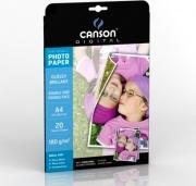 Canson C200004321 Carta Fotografica A4 180 gmq confezione 20 fogli