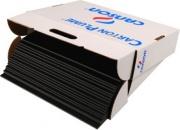 Canson C205154327 Confezione 17 Fogli Carton Plume Cl A3 5mm Nero